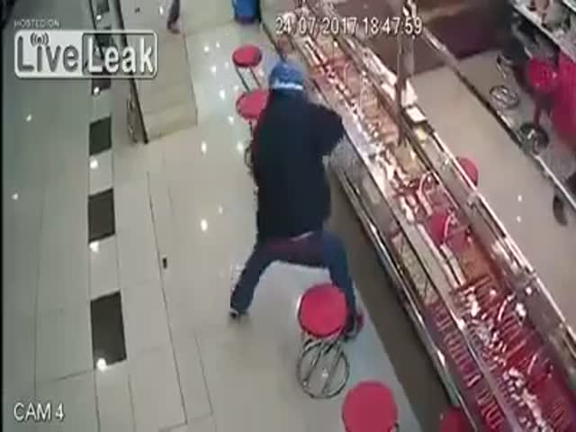 Being A Robber Is Hard Nowadays…