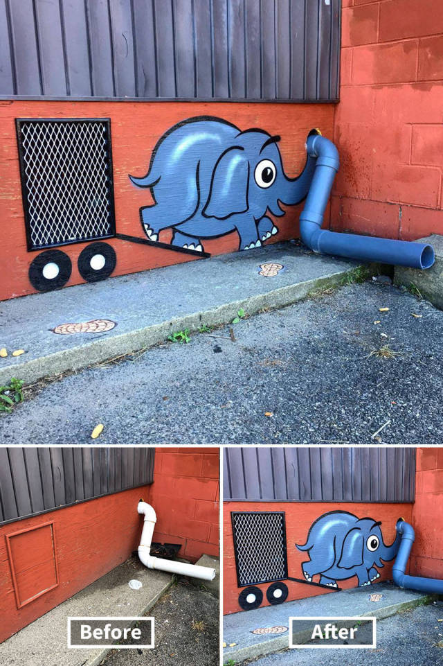 This Street Artist Is Some Kind Of Genius!
