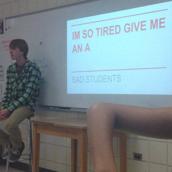 Class Presentations Always Get Awkward At One Point Or Another