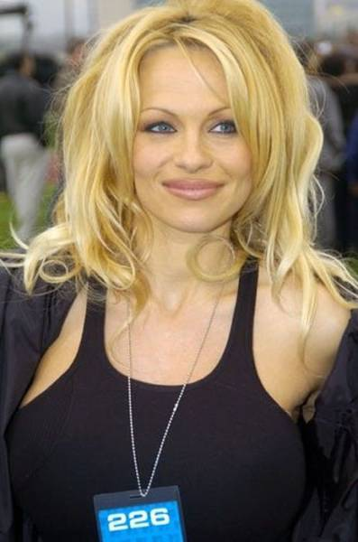 Even Pamela Anderson Is Not As Powerful As Time Itself