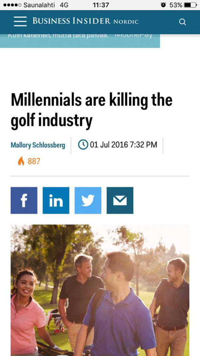 Millenials Are Blamed For All Of Today's Global Problems And Have An Answer For This