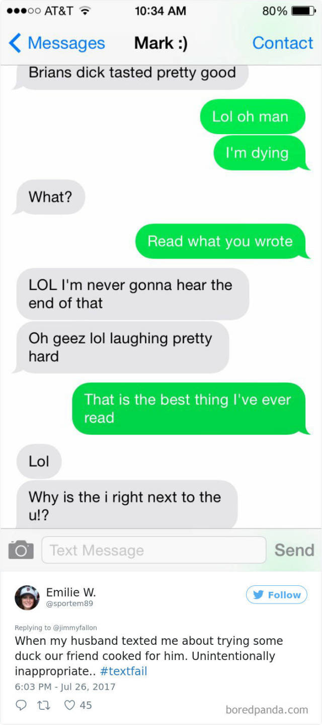 Sometimes You Can Fail In Texting More Than In Real Life