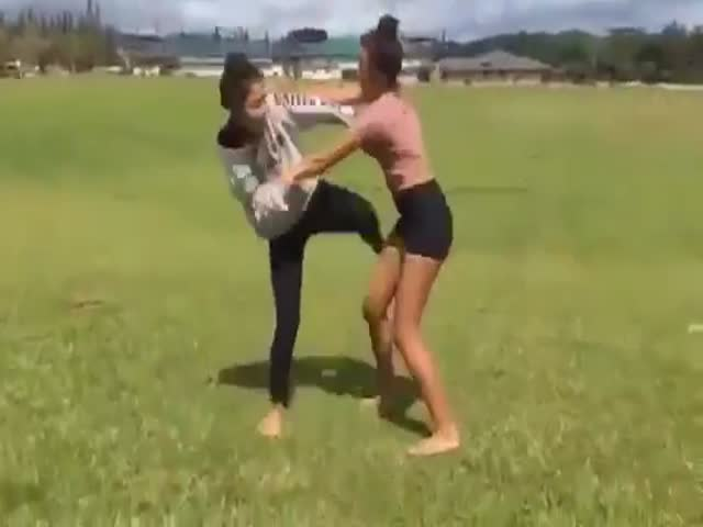 For Your Own Sake, Don't Mess With MMA-Trained Girls!