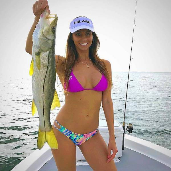 Fishing Is So Hot Nowadays!