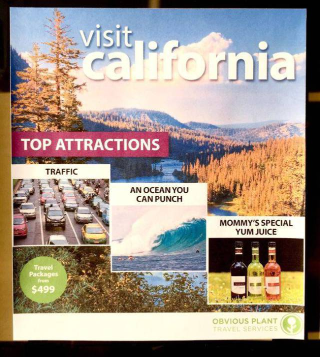 These US Tourism Flyers Are Fake But Still So True!