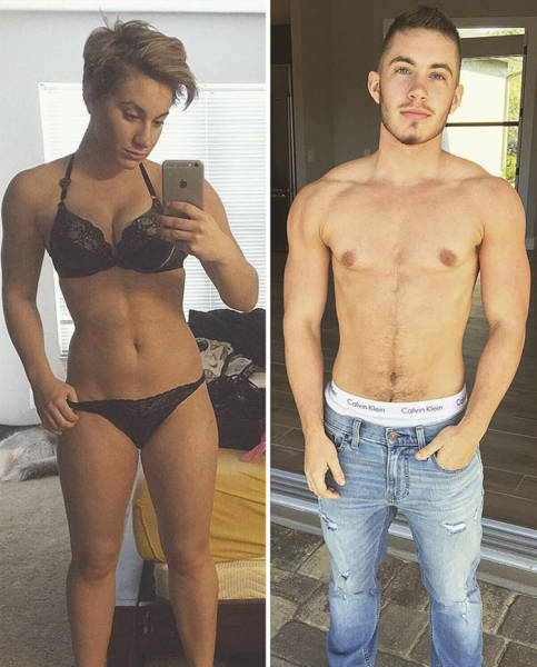 This Man Was A Woman Once. And Here's His Transformation Story