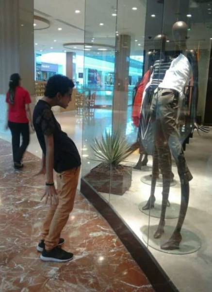 Mannequins Seem To Live A Life Of Their Own…
