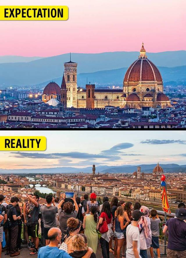 Some Popular Tourist Places Are Very Deceiving, To Say The Least…