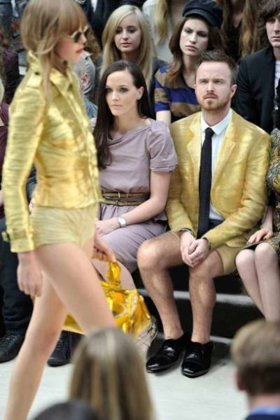 """Aaron Paul Needs Some Explanation About This """"Fashion"""" Thing"""