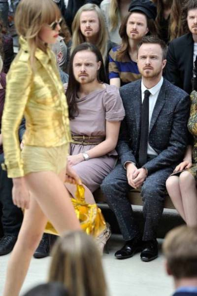 "Aaron Paul Needs Some Explanation About This ""Fashion"" Thing"