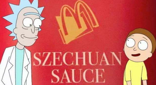 "McDonald's Has Invented Time Machine For The Creator Of ""Rick&Morty"""