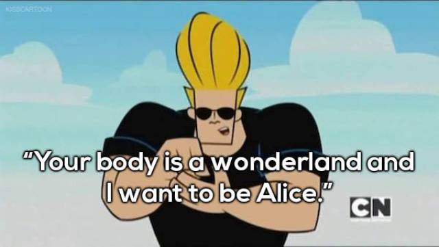 Johnny Bravo Is The Real Guru Of Pick-Up!