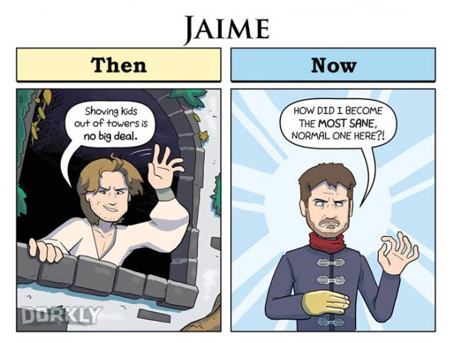 """""""Game Of Thrones"""" Characters Had Quite A Path To Travel Since Season 1"""