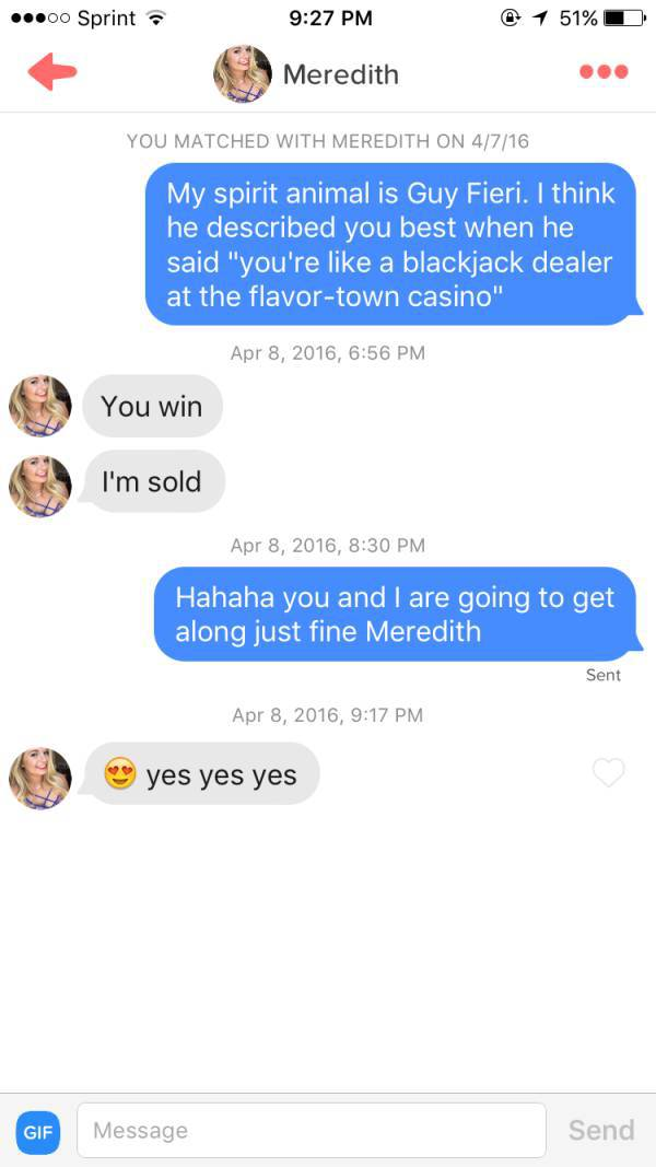 Puns Make Everything Better, Including Your Chances On Tinder