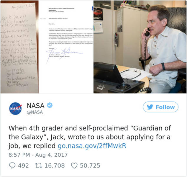 Apparently, NASA Hires Guardians Of The Galaxy Too Now