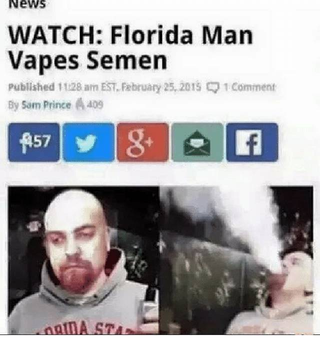 Florida Citizens Are At It Again