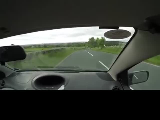 Typical British Car Crash