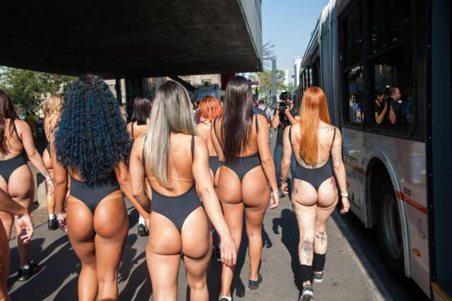Brazil Looking For The Best Booty