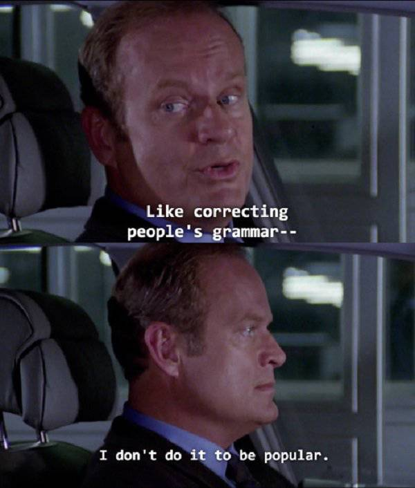 "24 Awesome Quotes Frome a ""Frasier"""