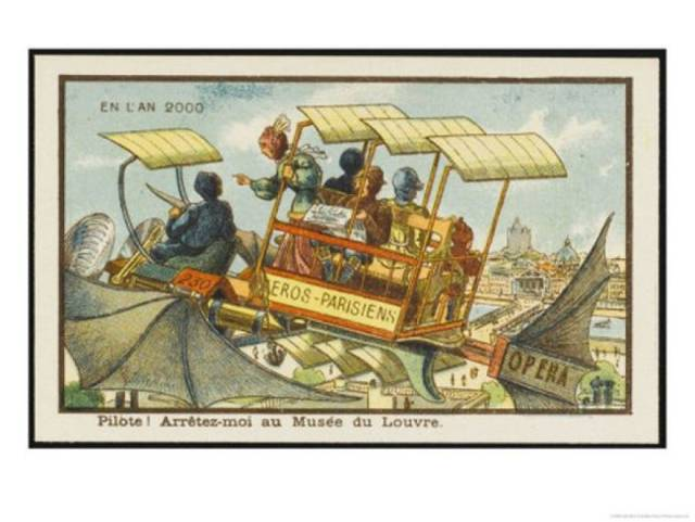 How People Imagined The Future 100 Years Ago