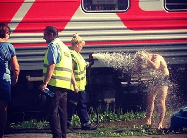 Russian Trains Are On a Whole New Level