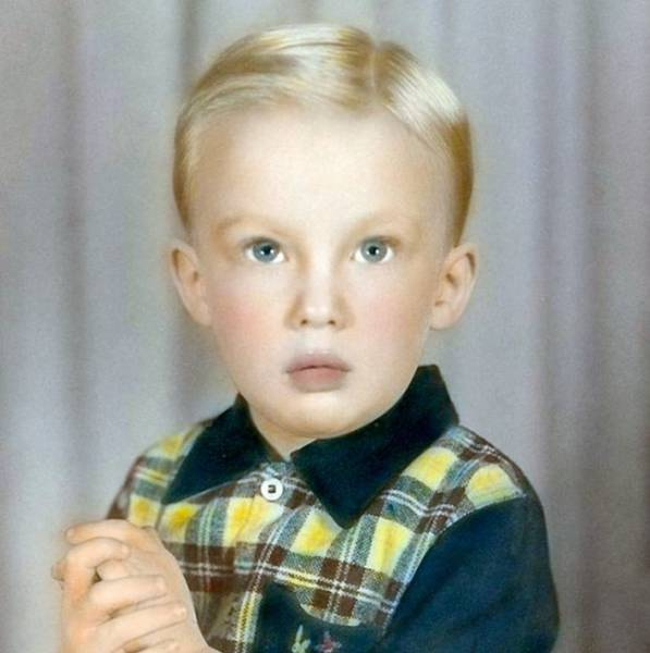 Childhood Photos Of The Most Powerful People In Politics