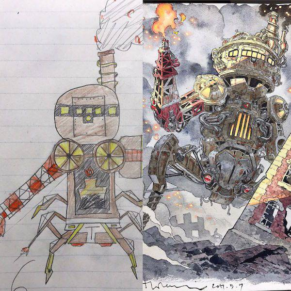 Kids Drawings Turned Into Spectacular Anime Characters