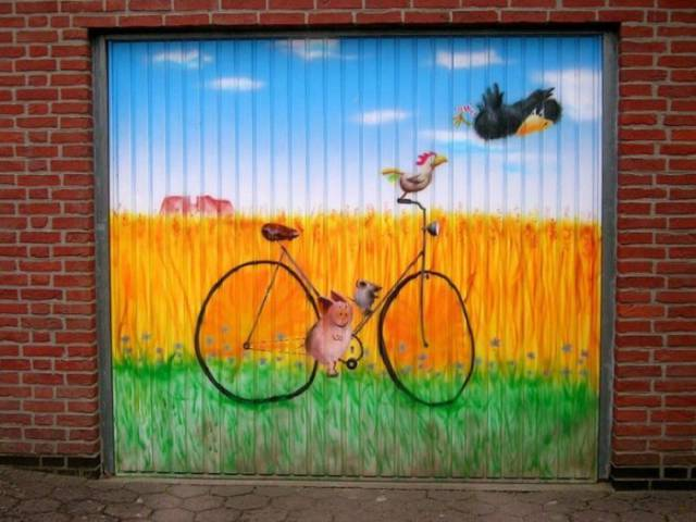 This Is How You Should Paint Your Garage Doors