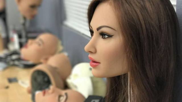 Sex Robot Factory In Action
