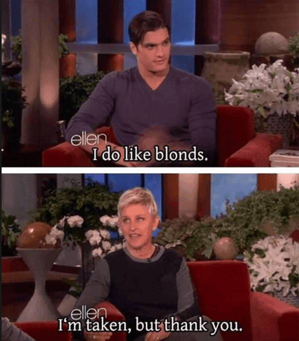 Ellen DeGeneres Speaks The Truth