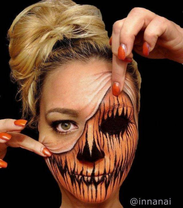 Creepy And Artistic Facial Illusions