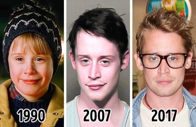 3 fotos atraves del tiempo para ver como envejecieron ellos!