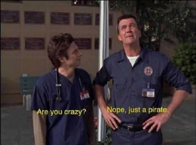 "Diagnose: Patient Quotes ""Scrubs"""