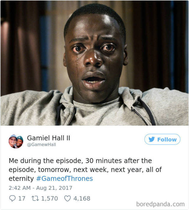 """Game Of Thrones"" Just Can't Stop Generating Funny Twitter Reactions With Its 6th Episode"