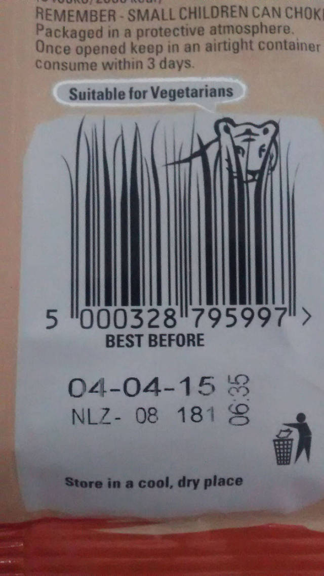 Even Barcodes Can Be Creative!