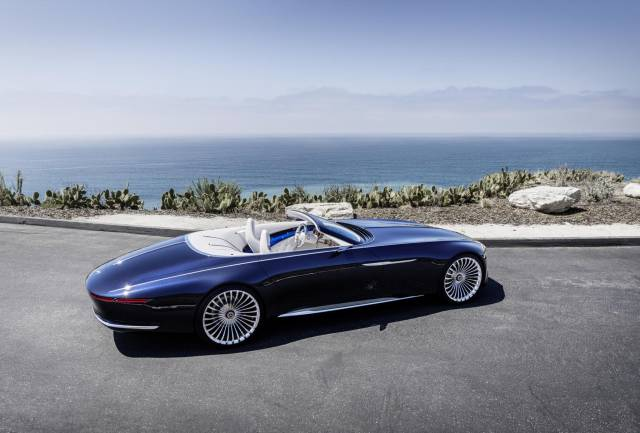 The Mercedes-Maybach 6 Cabriolet Is A Perfect Carception!