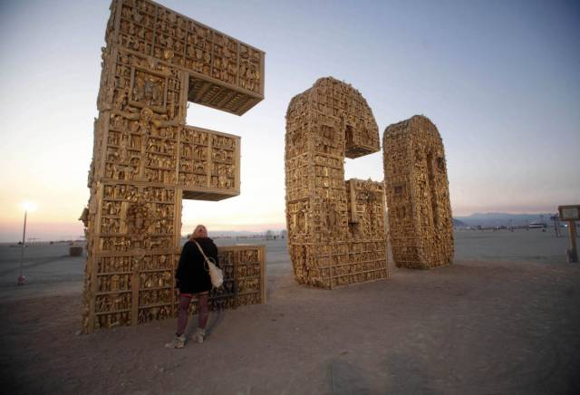 Burning Man Brought Us Some Really Great Pieces Of Art In The Past Years