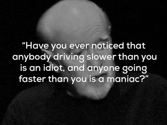 George Carling Brings His Wisdom Upon Us