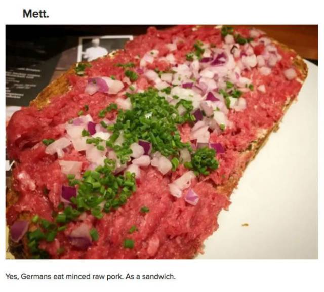 These German Foods Are Just Plainly Weird For Anyone Who's Not German