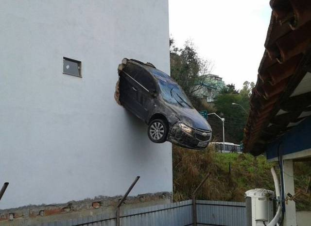 Car Fails Can't Get Any Worse Than This