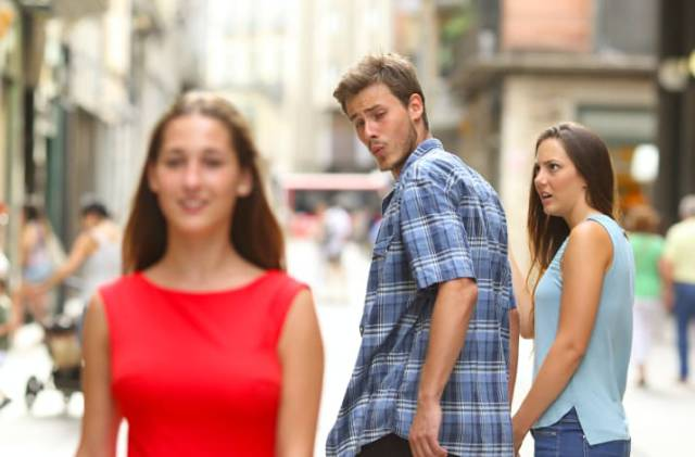 """""""Distracted Boyfriend"""" Is A Meme You Really Should Know About"""