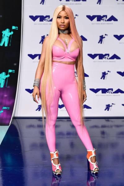 Nicki Minaj Had An Unexpected Fail With Her Latex Suit
