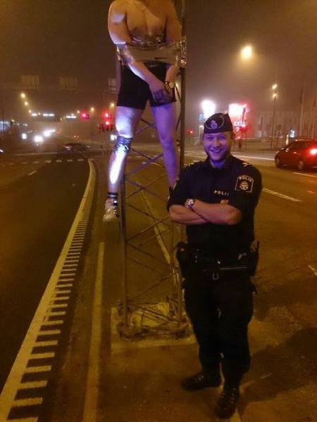 Looks Like Cops Are Up For Having Some Fun Too!