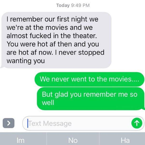 Don't Text Your Ex. Just Don't