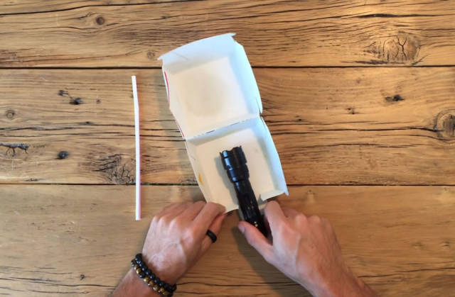 Big Mac Box, Flashlight And Straws Are Everything You Need For High-Quality Photos!