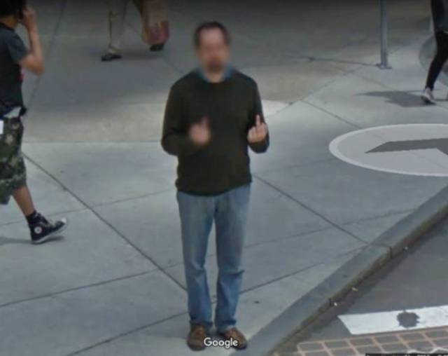 Google Street View Always Finds Something Bizarre On Those Streets