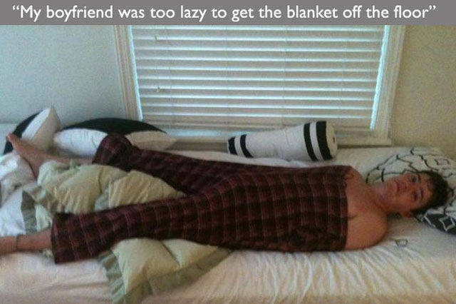 You Can't Get Lazier Than That!