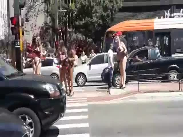 Those Bikini Girls Surely Could Sell Car Insurance!