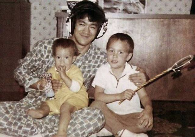 Here's Bruce Lee Which Only His Family Got To See