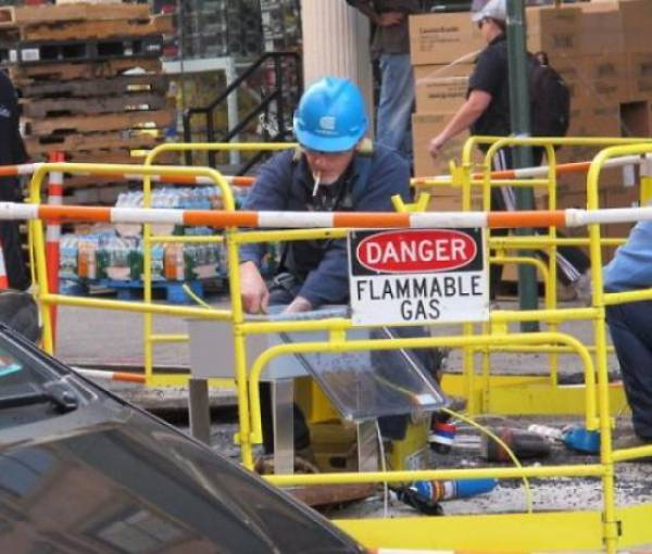 """Not Everybody Knows What The Word """"Safety"""" Means"""